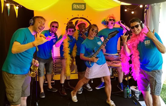 RNIB Tent Glastonbury